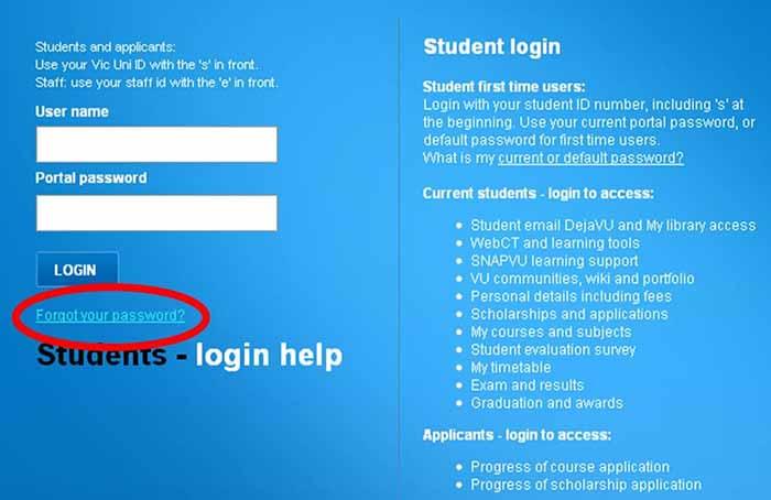 Victoria University Information Technology Services